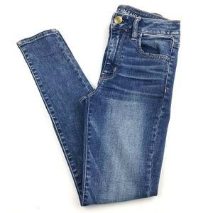 American Eagle Hi-Rise Jegging Jean 2 Short